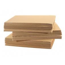 Гофрокартон листовой 3-х слойный 1,05*2,5м (2,62м2)