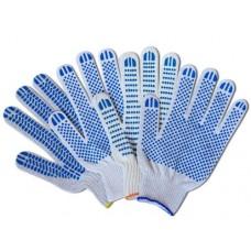 Перчатки хб с ПВХ 5 нитка