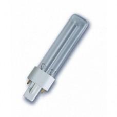 Лампа HNS S    9W G23  d28х166 (бактерицидная) Osram