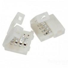 FL-FPC Connector 10mm-4pins-male  RGB   Single side   15cm соединение ленты c контроллером 4-pin