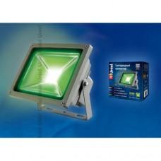 Прожектор Uniel  светодиодный 50W(2100lm) зеленого свечения, IP65