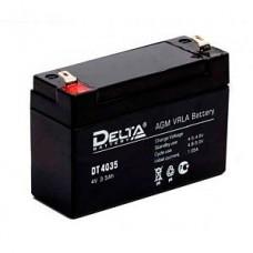 Аккумулятор  04V 3.5Ah Delta DT 4035   90x34x66