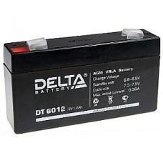 Аккумулятор  06V 1.2Ah Delta DT 6012  97x24x58