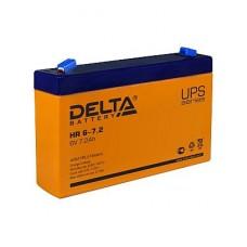 Аккумулятор  06V 7.2Ah Delta HR 6-7.2   151x34x100