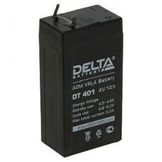 Аккумулятор  04V 1.0Ah Delta DT 401 35x22x69