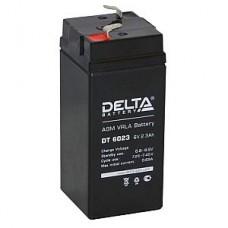 Аккумулятор  06V 2.3Ah Delta DT 6023, 44х47х101