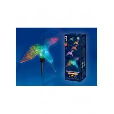 Светильник Uniel  на солнечной батарее 1LED RGB h=76см сталь/пластик  Colibri