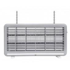 Антимоскитный светильник 2x10W T8 до 60 кв.м. IP44 провод 1м, 39x26x6