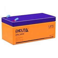Аккумулятор  12V 3.2Ah Delta DTM 12032, 134x67x67